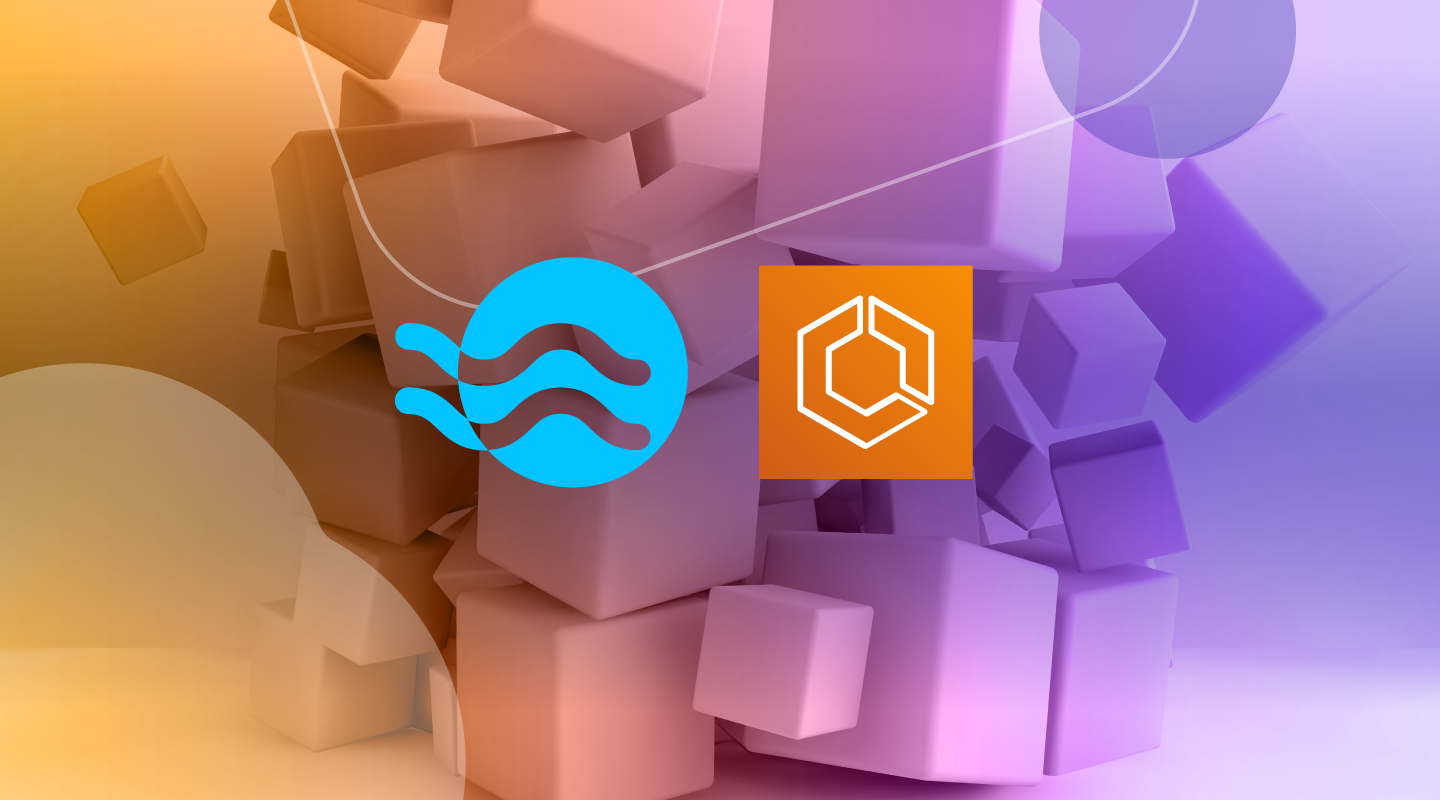 blog cover image on Ocean support for ECS tasks running on any AWS pricing plan within a single cluster.
